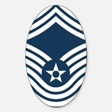 USAF-CMSgt-Old-Blue-4-Inches Decal
