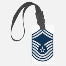 USAF-CMSgt-Old-For-Khaki Luggage Tag