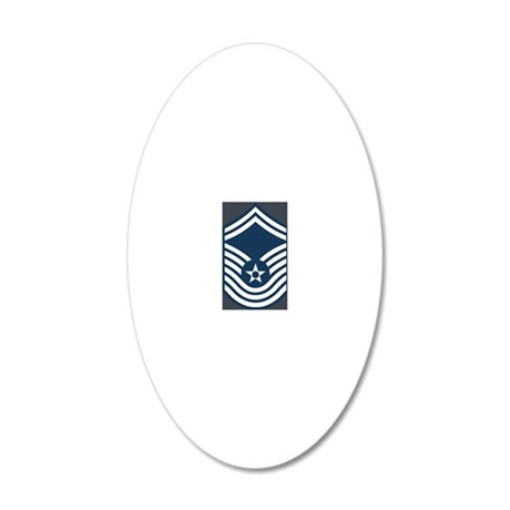 USAF-CMSgt-Old-Journal-2 20x12 Oval Wall Decal