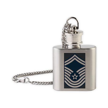 USAF-CMSgt-Old-Magnet-2 Flask Necklace