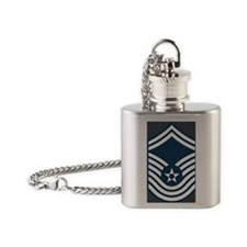 USAF-CMSgt-Old-Magnet-2 Flask Necklace