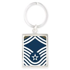 USAF-CMSgt-Old-Journal-4 Portrait Keychain