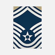 USAF-CMSgt-Old-Journal-3 Rectangle Magnet