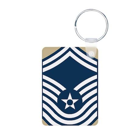 USAF-CMSgt-Old-Journal-3 Aluminum Photo Keychain
