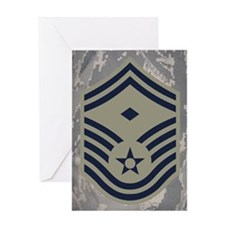 USAF-First-SMSgt-Mousepad-ABU Greeting Card
