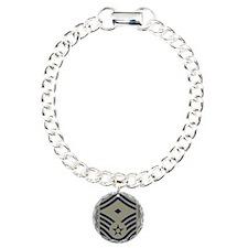 USAF-First-SMSgt-Mousepa Charm Bracelet, One Charm