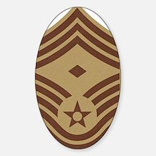 USAF-First-CMSgt-Desert-Fabric Decal