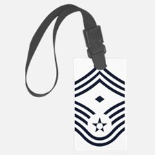 USAF-First-CMSgt-Inverse-PNG Luggage Tag