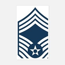 USAF-CMSgt-Blue Decal