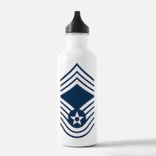 USAF-CMSgt-Blue Water Bottle