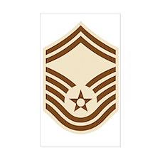 USAF-SMSgt-Desert-PNG Decal