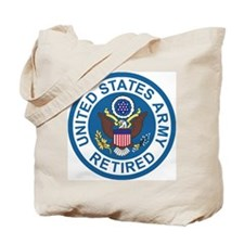 Army-Retired-Patch-8th-Infantry-Div-Color Tote Bag