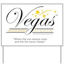 Vegas Nights Yard Sign