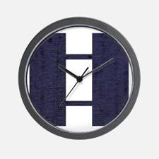 USAF-Capt-Midnight-Blue Wall Clock
