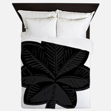 USAF-LtCol-Subdued-Black Queen Duvet