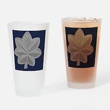 USAF-LtCol-Magnet-Blue Drinking Glass