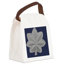 USAF-LtCol-Magnet-Blue Canvas Lunch Bag
