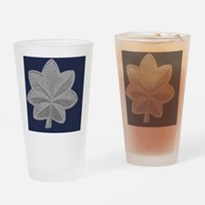 USAF-LtCol-Journal-Blue Drinking Glass