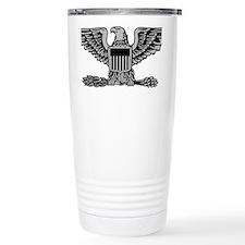 USAF-Col-Silver Travel Mug