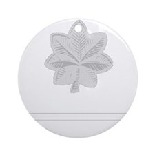 USAF-LtCol-Epaulette Round Ornament
