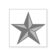 "USAF-BG-Silver-PNG Square Sticker 3"" x 3"""