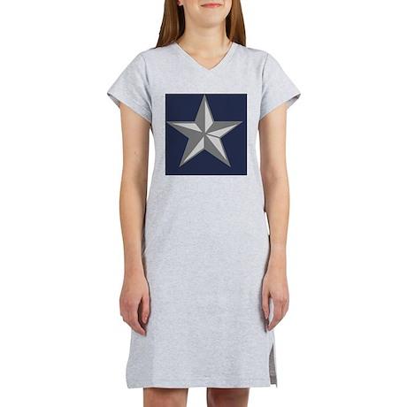 USAF-BG-Tile Women's Nightshirt