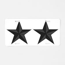 USAF-MG-Subdued-Black-PNG Aluminum License Plate