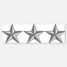 USAF-LTG-Silver-Gray Bumper Bumper Sticker