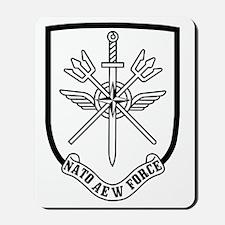 NATO-AEW-Force-Patch Mousepad