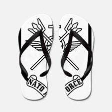 NATO-AEW-Force-Patch Flip Flops