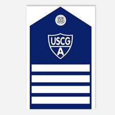 USCGAux-Rank-VCO-Board Postcards (Package of 8)