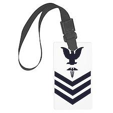 USCG-Rank-HS1-Crow-Subdued-Blue- Luggage Tag