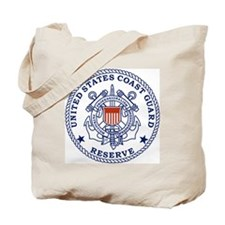 USCGR-Emblem-Red-Blue Tote Bag