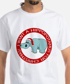 Christmas Hippo Shirt