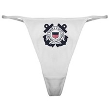 USCG-Logo-Blue-White-For-Blue-Crows Classic Thong