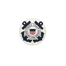 USCG-Logo-Blue-White-For-Blue-Crows Mini Button