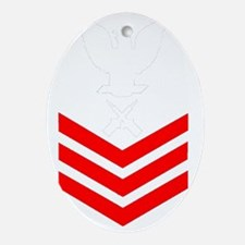 USCG-Rank-GM1-PNG Oval Ornament