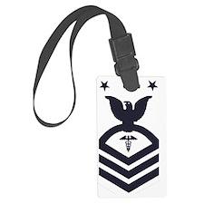 USCG-Rank-HSCM-Blue-PNG Luggage Tag