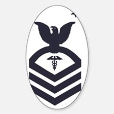 USCG-Rank-HSCM-Blue-PNG Decal