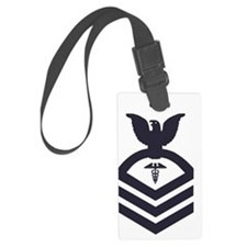 USCG-Rank-HSCS-Blue-PNG Luggage Tag