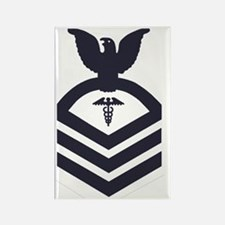 USCG-Rank-HSC-Blue-PNG Rectangle Magnet
