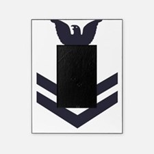 USCG-Rank-HS2-Crow-Subdued-Blue-PNG Picture Frame