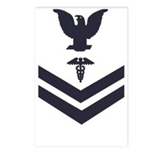 USCG-Rank-HS2-Crow-Subdue Postcards (Package of 8)