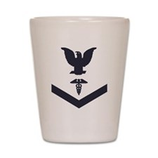 USCG-Rank-HS3-Crow-Subdued-Blue-PNG Shot Glass
