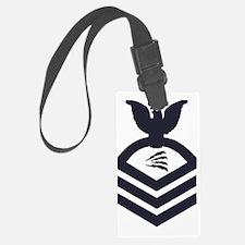 USCG-Rank-TCC-Blue-Crow-PNG Luggage Tag