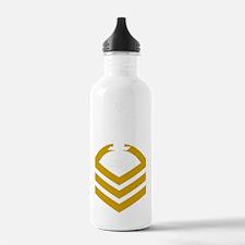USCG-Rank-TCCS-PNG Water Bottle