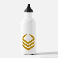 USCG-Rank-TCCM-PNG Water Bottle