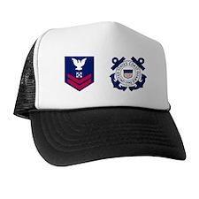 USCG-Rank-BM2-Mug Trucker Hat