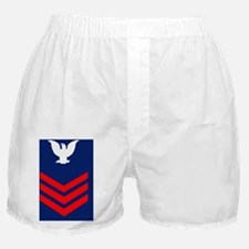 USCG-Rank-PO1-Journal-Crow Boxer Shorts