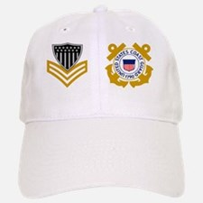 USCG-Rank-PO1-Mug-Pin Baseball Baseball Cap